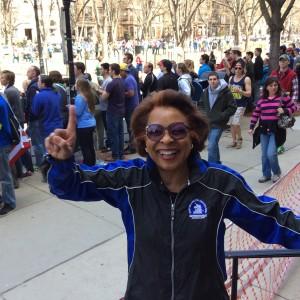 Me at 2014 Marathon